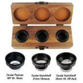 Ocular Vitreolyis Three Lens Set