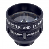 Ocular Gaasterland 1X Four Mirror Gonio with 15mm flange