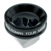 Ocular Sussman Four Mirror Hand Held Gonioscope with Large Ring (Black)