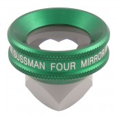 Ocular Sussman Four Mirror Hand Held Gonioscope with Large Ring (Green)